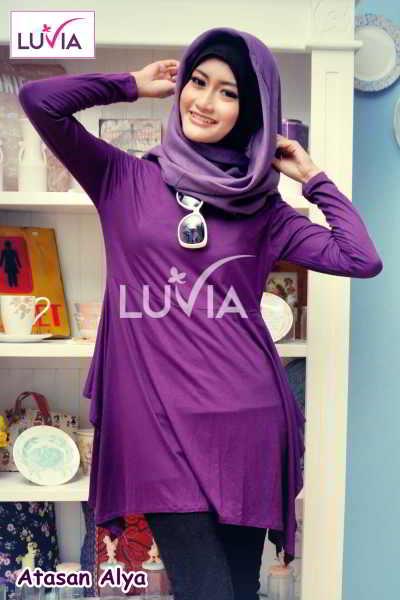 Baju Atasan Muslim Wanita Alya