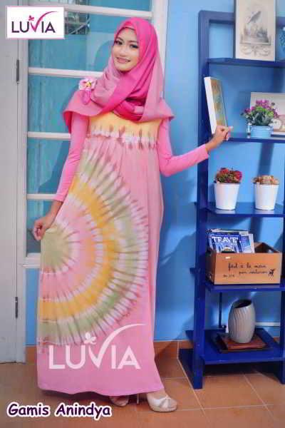 Gamis Muslimah Elegan