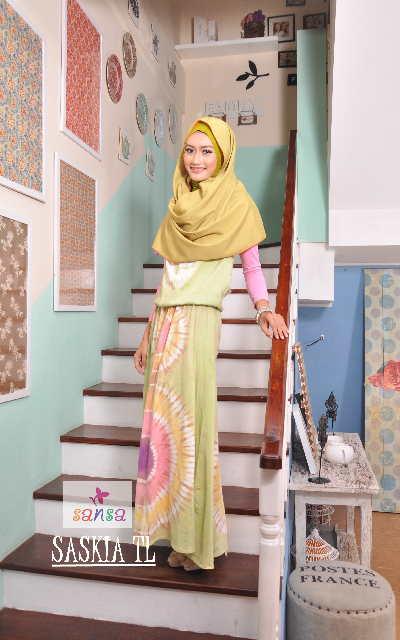 model batik gamis