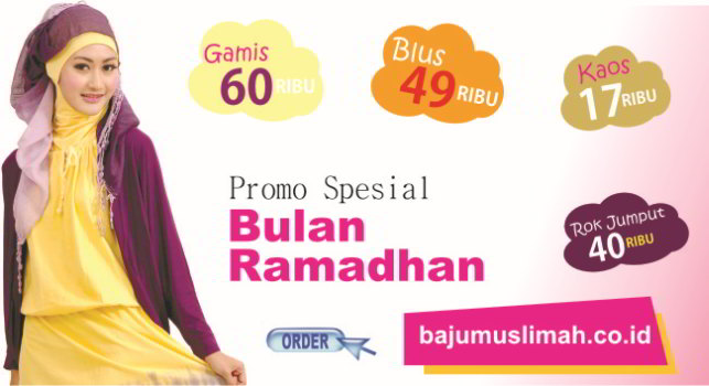 RP.50Rb Model Baju Muslimah Modern Online Terbaru 2016