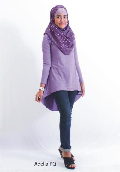 model baju atasan wanita muslim modern