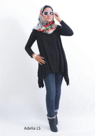 model baju atasan wanita muslim terbaru