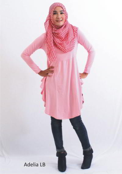 model model baju atasan wanita
