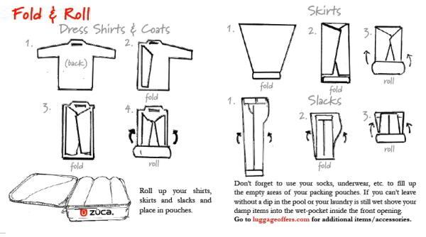 Cara Cepat Melipat Baju Celana Dan Pakaian Dalam
