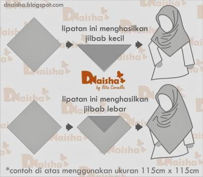 Cara Melipat Jilbab agar Tidak Kusut Jilbab Panjang Kotak Segi Tiga Dan Segi Empat